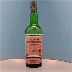 Miniatures - Bottles - Gilbey's Invalid Tonic Wine (B11-GT) - http://www.hilarypagetoys.com