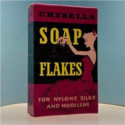 Miniatures - Cartons - Crysella Soap Flakes (C68) - http://www.hilarypagetoys.com