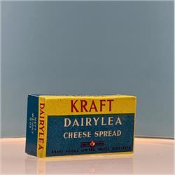 Miniatures - Cartons - Kraft Dairylea Cheese spread (Oblong Box) (C24) - http://www.hilarypagetoys.com