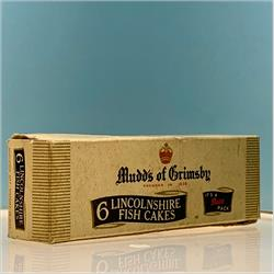 Miniatures - Cartons - Mudd's 6 Lincolnshire Fish Cakes - http://www.hilarypagetoys.com