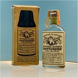 Miniatures - Cartons - Woodward's Gripe Water (Bottle in Box) - http://www.hilarypagetoys.com