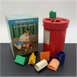 1963-1977 ~ 2-, 3-, 4-,5- & 6- Prefix Ref. No's - 2-290 Posting Box (Post Box shape) - http://www.hilarypagetoys.com