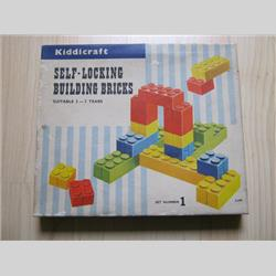 1963-1977 ~ 2-, 3-, 4-,5- & 6- Prefix Ref. No's - 2-299 Self-Locking Building Bricks Set 1- 24 Bricks - http://www.hilarypagetoys.com
