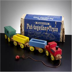 1963-1977 ~ 2-, 3-, 4-,5- & 6- Prefix Ref. No's - 5-073 Put-Together Train - http://www.hilarypagetoys.com