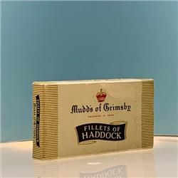 Miniatures - Cartons - Mudd's Fillets of Haddock - http://www.hilarypagetoys.com
