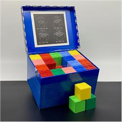 Interlocking Building Cubes - 2-300 Kiddicraft Interlocking Building Cubes - 60 cubes - New larger size - http://www.hilarypagetoys.com