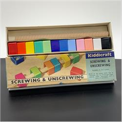 1963-1977 ~ 2-, 3-, 4-,5- & 6- Prefix Ref. No's - 2-288 Screwing and Unscrewing - Wooden Stick - http://www.hilarypagetoys.com