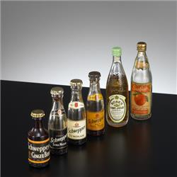 Miniatures - Group Photographs - Kiddicraft Miniatures - Soft Drinks Group - http://www.hilarypagetoys.com