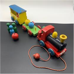 1932-1962 ~ K & F Prefix Ref. No's - F143 Forest Toys - Skittle Train - http://www.hilarypagetoys.com