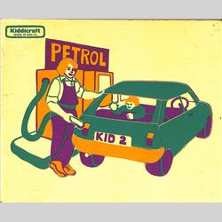 1963-1977 ~ 2-, 3-, 4-,5- & 6- Prefix Ref. No's - 5-157 Simple Jigsaw - Petrol Station (9 pieces) - http://www.hilarypagetoys.com